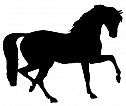 Horse Herd Silhouette at GetDrawings.com | Free for personal use ...