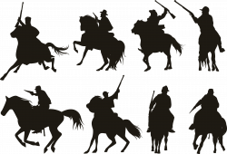 Pack Horse Silhouette at GetDrawings.com | Free for personal use ...