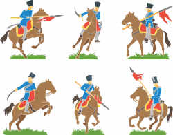 Pony Cavalry Clip art - Handsome knight 4936*3886 transprent Png ...