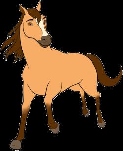 Spirit: Riding Free Clip Art | Cartoon Clip Art
