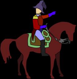 Historic Soldier On A Horse Clip Art at Clker.com - vector clip art ...