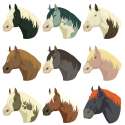 Breath of the Wild Horses Pack by The-Emerald-Otter on DeviantArt