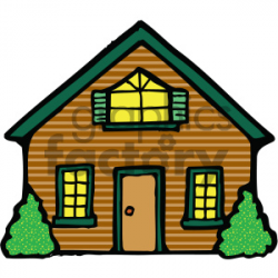 house 001 c clipart. Royalty-free clipart # 405046