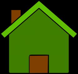 Green And Brown House Clip Art at Clker.com - vector clip art online ...