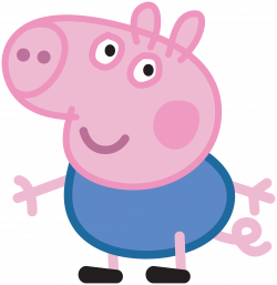 George_Peppa_Pig_Transparent_PNG_Image.png (7755×8000) | Party Peppa ...