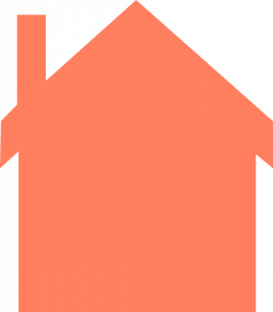 Coral House Silhouette Clip Art at Clker.com - vector clip art ...