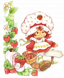 New Retro Vintage Strawberry Shortcake Blackberry Curve 8520 / 9300 ...