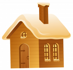 Winter Brown House PNG Picture   Gallery Yopriceville - High ...