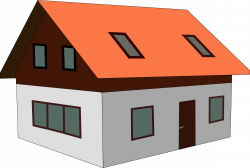 28+ Collection of Sloping Roof House Clipart | High quality, free ...