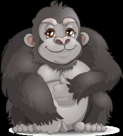 19 Gorilla clipart HUGE FREEBIE! Download for PowerPoint ...