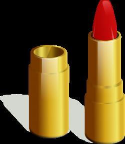 Gold Lipstick Clip Art at Clker.com - vector clip art online ...