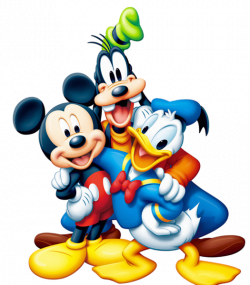 Mickey Mouse and Friends PNG Clipart | Disney | Pinterest | Mickey ...