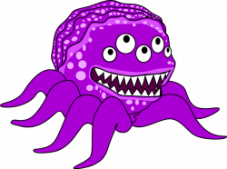 Monsters clip art free free clipart images - Clipartix