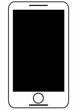 Clipart - Animated Smart Phone Black And White - Free Download ...
