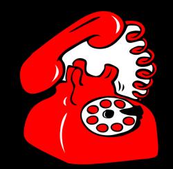 Red Phone Clip Art at Clker.com - vector clip art online, royalty ...