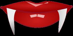 Vampire Mouth Close Up transparent PNG - StickPNG