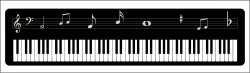 28+ Collection of Piano Keys Clipart Png | High quality, free ...