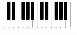 Free Piano Keys Cliparts, Download Free Clip Art, Free Clip ...
