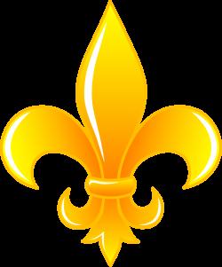 painting+fleur+de+lis | Shiny Golden Fleur De Lis - Free Clip Art ...