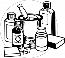 Free Medicine Clipart Black and white ImagesDownload 【2018】