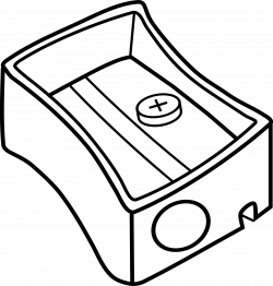 Clipart - Pencil sharpener