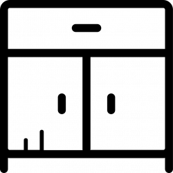 Kitchen Cabinet Svg Png Icon Free Download (#197684 ...