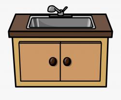 Kitchen Clip Art - Kitchen Sink Clipart #115995 - Free ...