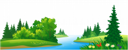 Grass Lake and Trees Transparent PNG Clipart | Gallery Yopriceville ...
