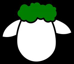 Sheep Cartoon Face Clip art - Lamb Outline Cliparts 600*524 ...