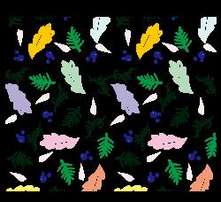 Leaf Clip art - Leaves pattern background vector 2386*2178 ...