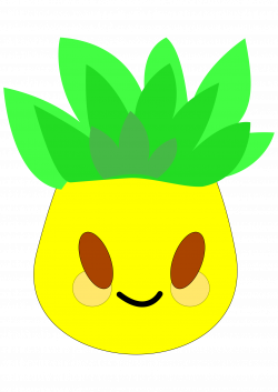 Clipart - pineapple