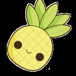 pineapple - Sticker by ilovebratayley9