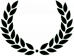 Clipart - Laurel wreath
