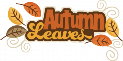 Autumn l Leaves SVG autumn svg file svg files for scrapbooking cute ...