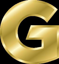 Letter Gold Alphabet Clip art - Gold letters 2186*2400 transprent ...