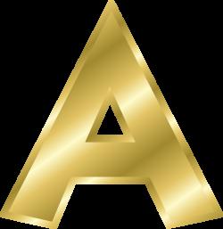 Effect Letters alphabet gold | Online Labels Clip Art | Pinterest ...
