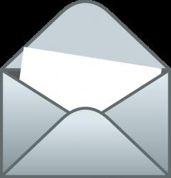 Envelope With White Letter Clip Art at Clker.com - vector clip art ...