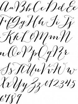 carolyna pro black alphabet - Google Search … | Spell it…