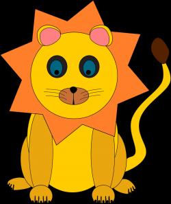 Lion | Free Stock Photo | Illustration of a cartoon lion | # 10801