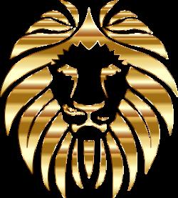 Clipart - Golden Lion No Background