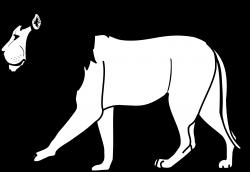 Lion Clip Art Black And White | Clipart Panda - Free Clipart Images