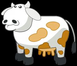 Clipart - Colour Cow 3
