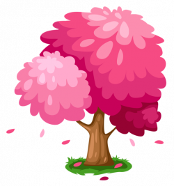 Cute Pink Spring Tree Clipart   Trees   Pinterest   Tree clipart ...