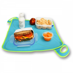 FlatBox - The Placemat That Packs a Lunch!