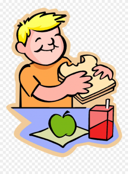 Lunch Clipart Snack - Eat Lunch - Png Download (#115740 ...