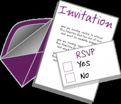 Invitation Clip Art at Clker.com - vector clip art online, royalty ...