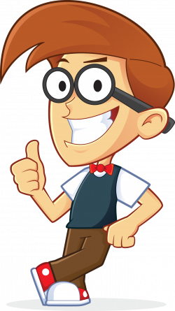 Geek Clipart Cartoon Person Free collection | Download and share ...