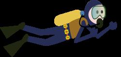 Diver PNG images free download