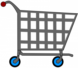 28+ Collection of Supermarket Trolley Clipart | High quality, free ...