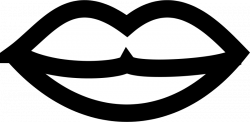 Lips Clip Art Black And White | Clipart Panda - Free Clipart Images